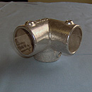 #31 S.O. Elbow - J.C. Denier Co. - Aluminum Alloy Structural Pipe Fittings for Hand Rails & Guard Rails